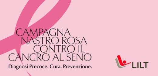 Canicattini Bagni si illumina di rosa per la Campagna Nastro Rosa 2018 della Lilt per la prevenzione dei tumori