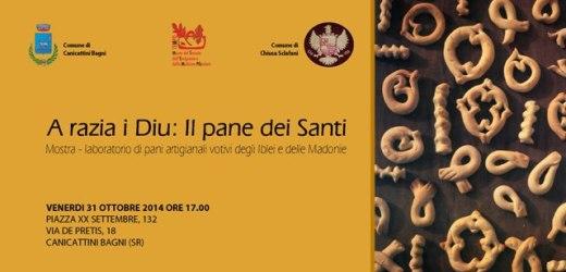 """""""A razia i Diu"""", mostra e laboratorio di pani artigianali e votivi al Museo Tempo di Canicattini Bagni"""