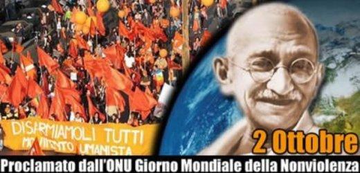 """Ieri giornata internazionale della """"Nonviolenza"""", un impegno che continua"""