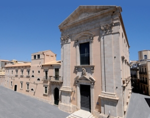 La sede dell'Isisc a Siracusa