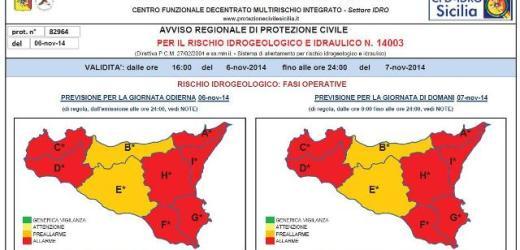 E' ancora allerta meteo, venerdì scuole chiuse in molti comuni della provincia
