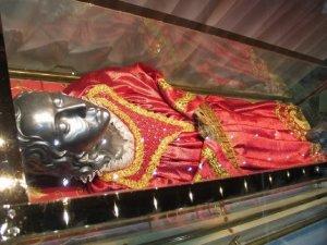Il corpo di Santa Lucia