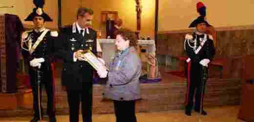 Ricordato stamane il carabiniere siracusano Carmelo Ganci medaglia d'oro al valor militare