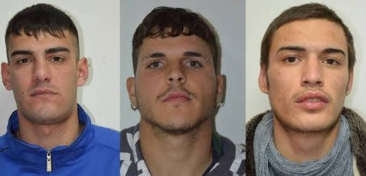 """Operazione """"bravi"""", arrestati a Pachino tre giovani ritenuti responsabili di rapine armati di fucile e pistola"""