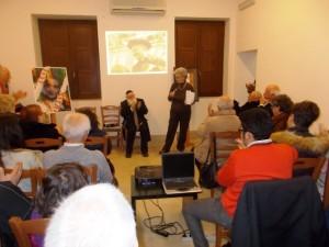 Il rabbino Di Mauro e Rita Gallo