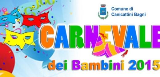 """Prende il via giovedì 12 il """"Carnevale dei bambini"""" a Canicattini Bagni"""