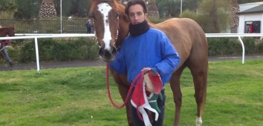 Successo di Blu War Horse oggi nella corsa clou all'ippodromo del Mediterraneo