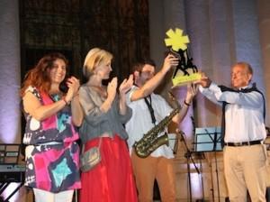 La premiazione di Farncesco Cafiso nel 2014