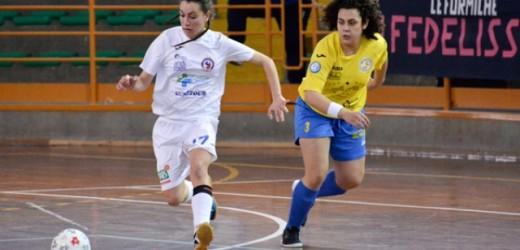 Le Formiche si fermano al pari 1-1 contro il Real Five Fasano, in rete Firrincieli per le aretusee