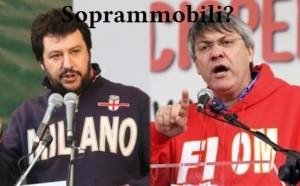 Salvini e Landini