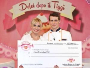 Antonella Clerici e Vincenzo Monaco