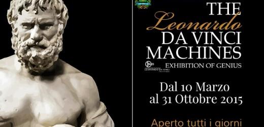"""Mostra-museo """"Le macchine di Leonardo"""", mercoledì la presentazione all'ex Convento del Ritiro a Siracusa"""