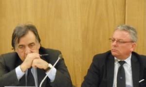 Leoluca Orlando e Paolo Amenta