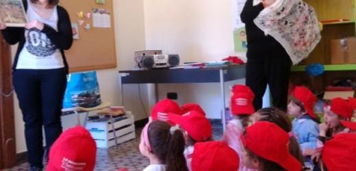 """I bambini della materna di Canicattini Bagni ospiti della Biblioteca e di Npl, domenica """"labomerenda"""" con Verbavolant"""