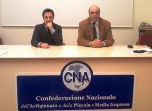 Gianpaolo Miceli e Antonino Finocchiaro della Cna Siracusa