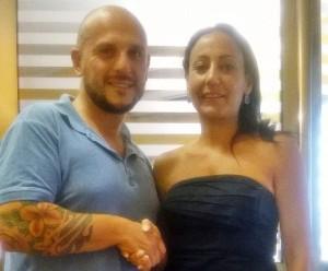 Christian Romano e Simona marletta
