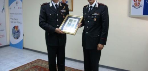 """Visita di commiato questa mattina al Comando provinciale dei Carabinieri del comandante la Legione """"Sicilia"""" Governale"""