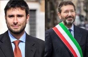 Alessandro Di Battista e Ignazio Marino