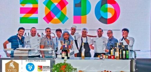 Successo ibleo al cluster Bio-Mediterraneo di Expo 2015. Oggi di scena la granita, lo chef Chiaramonte e Carlo Muratori
