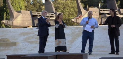 """A Lucia Lavia (Ifigenia) il 13 Premio """"Siracusa Stampa Teatro"""" assegnato dai giornalisti siracusani per gli spettacoli classici"""
