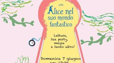 """""""Alice nel suo mondo fantastico"""", chiude domenica all'Asilo Nido di Canicattini Bagni il ciclo di letture di Nati per Leggere"""