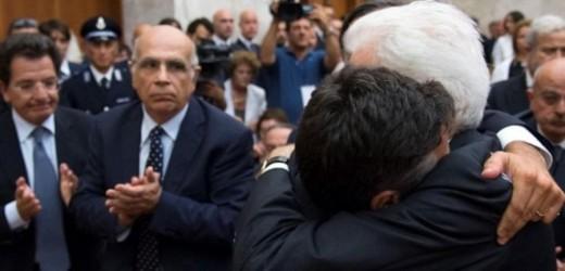"""L'intervento di Manfredi Borsellino davanti al presidente della Repubblica Sergio Mattarella: """"Lucia ha portato la croce"""""""