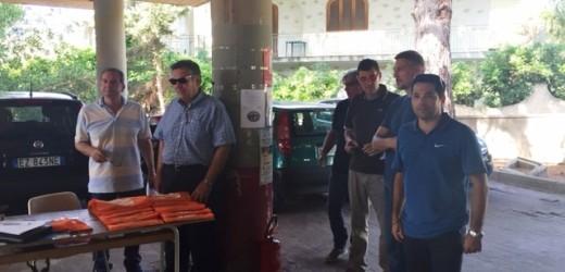 Sopralluogo della IV Commissione consiliare del Vermexio nel parcheggio di viale dei Lidi a Fontane Bianche