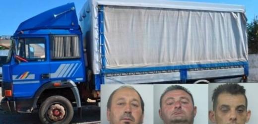 Duro colpo della Polizia alla banda dei furti di animali, colti sul fatto e arrestati tre calabresi in trasferta