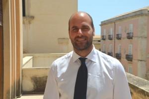 L'assessore Gianluca Scrofani