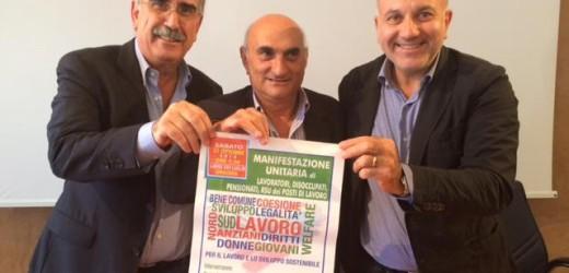 Dimissioni di Zappulla (Cgil), i saluti dei segretari di Uil e Cisl, Munafò e Sanzaro, e del direttore dell'Asp Brugaletta
