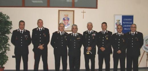 Il comandante interregionale dei Carabinieri generale Riccardo Amato in visita al Comando provinciale di Siracusa
