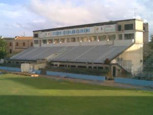 """Lo stadio """"De Simone"""""""