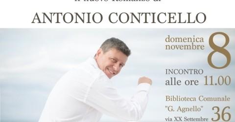 """Si presenta domenica a Canicattini Bagni """"Sotto l'ombrellone"""", il romanzo di Antonio Conticello"""