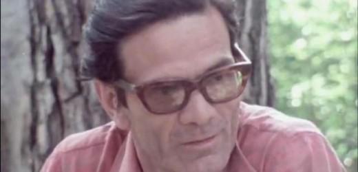 """""""Pier Paolo Pasolini vive"""". Il ricordo a 40 anni dalla scomparsa violenta del poeta, regista e scrittore """"controverso"""""""
