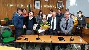 Da sinistra: G. Amenta, Morale, Anna Caligiore, P. Amenta, Zocco