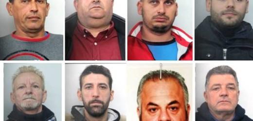 """Operazione """"Settemassi"""", nella rete della Polizia la banda delle rapine in banca, otto gli arrestati tra Siracusa e Catania"""