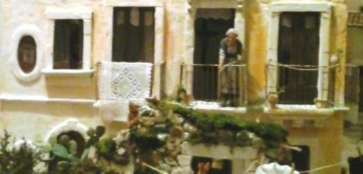Un presepe dell'architettura rurale di fine '800 a Floridia ad opera di Giuseppe Amenta