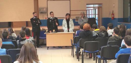 Incontro sulla legalità del comandante della Compagnia Carabinieri di Augusta con gli studenti di Melilli