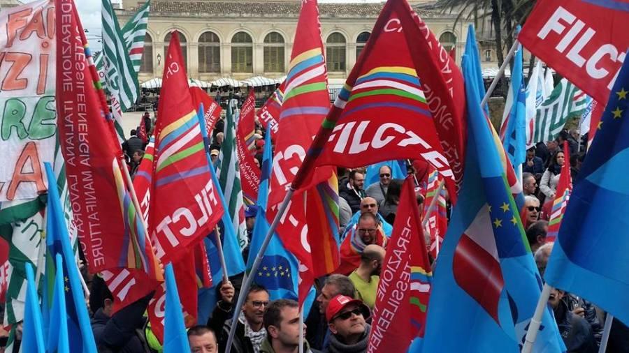 Il sindacato unitario oggi a Siracusa per dire NO alla cessione della Versalis
