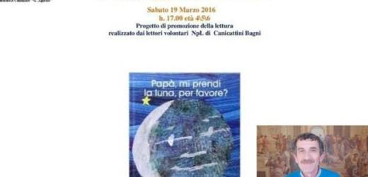 """""""Papà, leggimi una storia!"""", appuntamento sabato in biblioteca a Canicattini Bagni con la lettura per la Festa del Papà"""