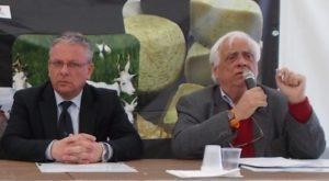 Il sindaco Amenta e il presidente del Gal Natiblei Giovanni Castello