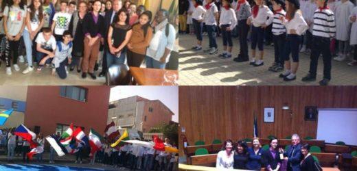 """Ospiti a Canicattini Bagni dei loro coetanei della Scuola Media 18 studenti de """"La Rochefoucauld"""" di La Ferté sous Jouarre"""