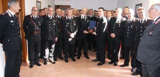 Visita del comandante generale dei Carabinieri Tullio Del Sette alla Compagnia di Augusta e le stazioni di Lentini e Carlentini