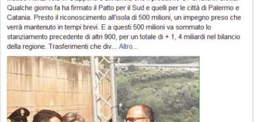 """""""Prossimo G7 in Sicilia"""". Renzi vola in Giappone è da l'annuncio ribattuto su FB dal sottosegretario Faraone"""