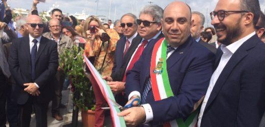 """Inaugurata la nuova banchina della """"Marina"""" di Siracusa al Foro Italico, accoglierà imbarcazioni di grande stazza"""
