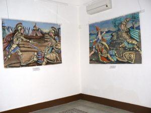 Un particolare della mostra
