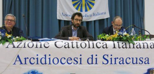 Incontro a Siracusa con Matteo Truffelli, presidente nazionale dell'Azione Cattolica Italiana, sul futuro dell'associazione