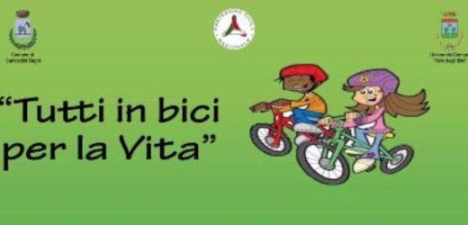 """""""Tutti in bici per la Vita"""", domenica a Canicattini Bagni passeggiata solidale per l'acquisto di defibrillatori per la città"""
