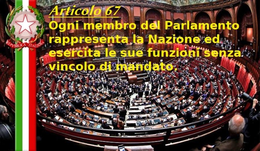 Articolo 67 della Costituzione