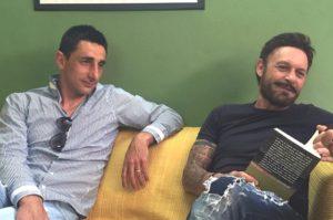 Gigi Calabrese e Totò Schillaci